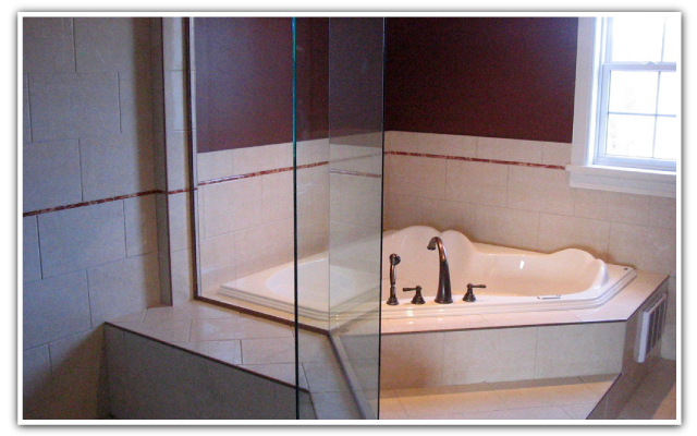 Shower and bath tiles
